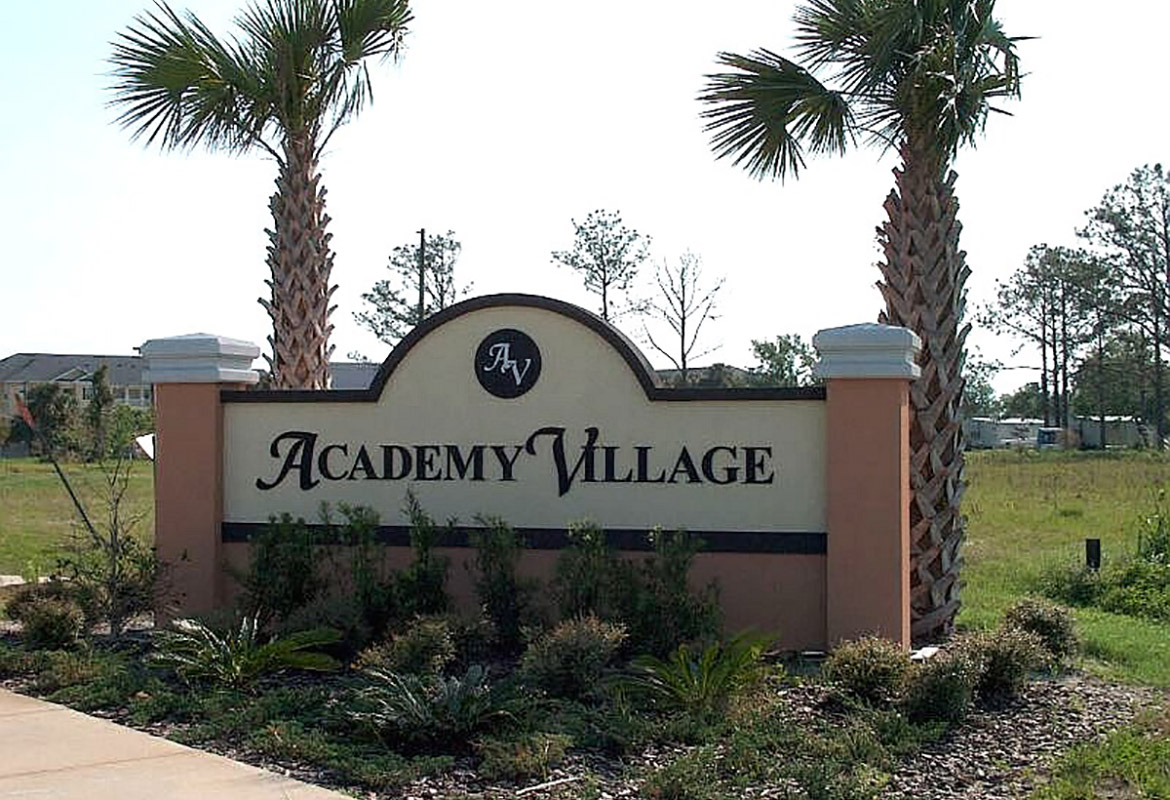 Academy Village Kissimmee Florida, USA - TRAMS